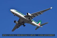 EI-EJL (luca.fizzarotti) Tags: airport aviation flight airbus a330 alitalia fco planespotter planespotters avgeek lirf