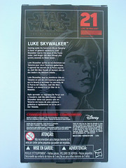SW: Black (W5)  Luke Skywalker [Tatooine]  Boxed Back (BurningAstronaut) Tags: boy black toy starwars action farm luke figure series lukeskywalker boxed skywalker theblackseries tatooine anewhope markhamill 6inch