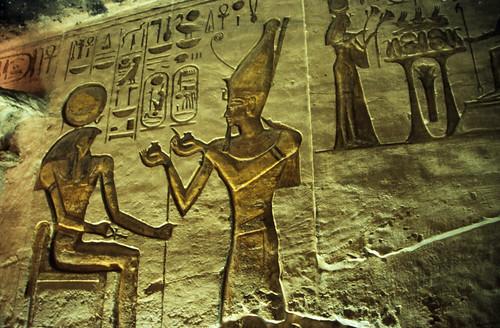 "Ägypten 1999 (120) Assuan: Im Großen Tempel, Abu Simbel • <a style=""font-size:0.8em;"" href=""http://www.flickr.com/photos/69570948@N04/26851423613/"" target=""_blank"">View on Flickr</a>"