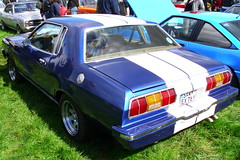 Ford Mustang II Coup 5.0 1976 (Zappadong) Tags: auto classic ford car automobile voiture ii coche classics oldtimer mustang 50 oldie carshow 1976 coup youngtimer 2016 automobil oldtimertreffen ellringen zappadong
