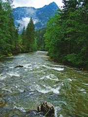 Traun. (Aaron T Jones) Tags: mountain alps river austria sterreich fuji village finepix s7000 fujifilm traun sarstein oesterreich salzkammergut koppentraun