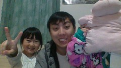 WIN_20151218_19_00_16_Pro (2) (nk_vang1) Tags: smile cheese happy peace hellokitty hideandseek messyhair hiding littlemonsters piggypillow