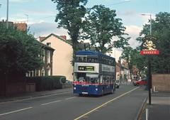 TWM 2205, Compton Road, Wolverhampton (Lady Wulfrun) Tags: travel bus pub 2000 transport august route service 510 westmidlands 2205 8th wolverhampton metrobus twm mcw perton wmt quarterhouse comptonroad gog205w