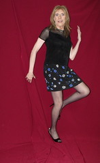 DSCF7919 (Rachel Carmina) Tags: tv legs cd tgirl transvestite heels pantyhose crossdresser trap tg nylons femboi