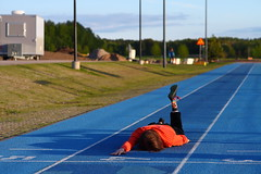 FDT #201 (almost made it) (Elektrojnis) Tags: sports track running sprint fail facedown fdt nikkor105mm125ais facedowntuesday