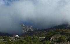 Euloz (bulbocode909) Tags: nature suisse maisons vert bleu printemps paysages brume valais fully montagnes forts euloz