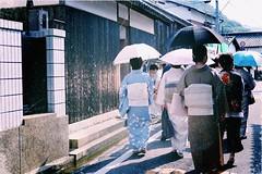 routine (chikakofukuda) Tags: japan fujifilm kimono naoshima  routine   xt1