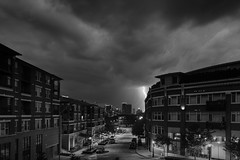 Union Hill Storms (Kevin VanEmburgh Photography) Tags: city building nature skyline night clouds outside outdoors nikon kansascity lightning storms cloudysky cityskyline unionhill kevinvanemburghphotography nikond750