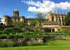 Christ Church College and Cathedral, Oxford - May 2016 (tmvissers) Tags: uk christchurch england tower college church st gardens university christ cathedral oxford aldates