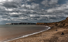 Freshwater Bay (CdL Creative) Tags: england canon geotagged eos unitedkingdom hampshire isleofwight gb hdr brighstone freshwaterbay 70d cdlcreative geo:lon=14569 po39 geo:lat=506506