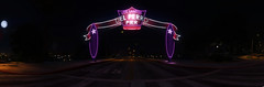 GTA 5 (ADinvom) Tags: gta 5 screenshot panorama night photoshop city road grand theft auto