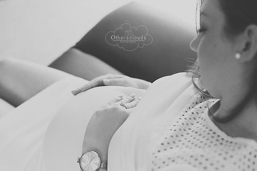 Une future maman pressée