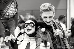 _DSC1004 (one8haveshp) Tags: white black london monochrome 50mm birmingham minolta cosplay f14 sony may pg mc comicon 2016 ilce rokkor a7ii 7m2
