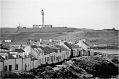 Portnahaven and Lighthouse-14 (The Terry Eve Archive) Tags: lighthouse harbour portnahaven islay scotland bw island westcoast