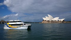 Fast Ferry (Ross Major) Tags: opera harbour sydney australia nsw pureview nokia1020