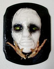 Johnny Hellion (Johnny Hellion) Tags: white art chicken feet face dark mask johnny beetles hellion