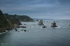 15 01 09 15 01 09 DSCF2624 (jmacirez13) Tags: espaa paisajes mar europa asturias paisaje cudillero acantilado horizonte playadelsilencio