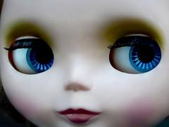 BaD June 21 - Bette Davis Eyes (lyndell23) Tags: eyes blythe blythedoll frenchtrenchblythe blytheaday picmonkey