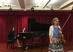Levine Music (JuhaOnTheRoad) Tags: music woman usa girl washingtondc piano streetphotography violin iphone