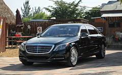 Mercedes-Maybach S600 (RudeDude2140a) Tags: black car sedan exotic mercedesbenz luxury maybach s600 mercedesmaybach w222