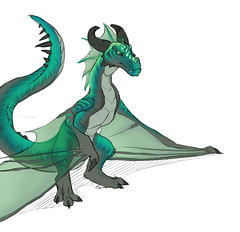 """Nine's Dragon Form • <a style=""""font-size:0.8em;"""" href=""""http://www.flickr.com/photos/77713531@N06/6874878640/"""" target=""""_blank"""">View on Flickr</a>"""