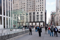 New York City-17 (King_of_Games) Tags: newyorkcity newyork apple applestore cube applecube willking willbking