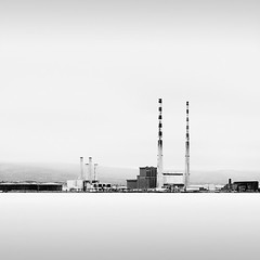 Poolbeg Smoke Stacks (MaggyMorrissey) Tags: ireland chimney dublin smoke stack pigeonhouse powerstation poolbeg decommissioned ringsend