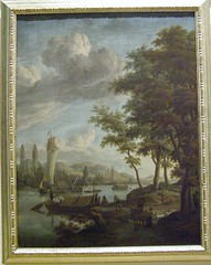 Jacobus Storck, Town by the River, 1670s-1680s (DeBeer) Tags: tower art sailboat river painting landscape boat town cathedral 17thcentury nationalgallery slovakia artmuseum rhine oldtown imaginary bratislava storck speyer dutchlandscape landscapepainting riverscape dutchpainting dutchart slovaknationalgallery imaginaryview 1680s 1670s 17thcenturyart slovensknrodngalria 17thcenturypainting nationalgalleryofslovakia jacobusstorck townbytheriver