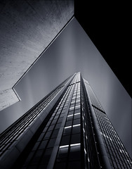 Monolith (A-lain W-allior A-rtworks) Tags: sky white black paris france building tower clouds dark nikon long exposure noir tour ciel sombre filter nd pause nuages montparnasse blanc filtre d300s dblringexcellence tplringexcellence