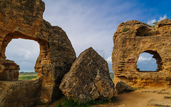 Valley of the Temples (Ron Scubadiver's Wild Life) Tags: wall ruins archeology sicily agrigento nikon outdoor