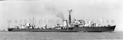 HMS Obdurate (Image Ref: warship3451) (ww2images) Tags: destroyer battleship warship 1947 royalnavy waratsea obdurate navyphoto britishships hmsobdurate warshipimages warshipimagescom warshipphotos