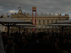 P1270489 (alainalele) Tags: 6 france place internet creative commons mai nancy francois bienvenue lorraine licence 2012 victoire stanislas hollande presse lection bloggeur prsidentielle paternit