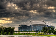 Dallas Cowboys Stadium (TxSportsPix) Tags: sports cowboys arlington canon dallas texas baseball action stadium rangers hdr whitesox mlb openingweek canon7d 24105f40 txsportspix