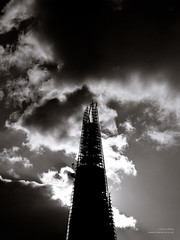 The sun is often out (cybertect) Tags: sky sun building london monochrome architecture backlight skyscraper construction unitedkingdom spire explore backlit constructionsite renzopiano se1 londonse1 pottersfields shardofglass theshard panasonicg2