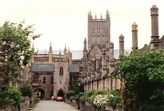 Wells Cathedral (Somerset) (michaelday_bath) Tags: wells somerset wellscathedral