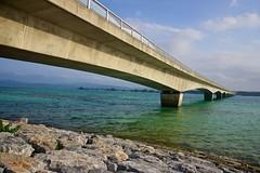 Stretch (Jake in Japan) Tags: bridge beach japan sony  okinawa    kourijima  apsc nex7 sel18200 gettyimagesjapan12q2 jakejung