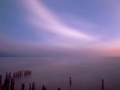 swirling clouds (KPEP) Tags: longexposure lakeerie bluehour movingclouds erieau kpepphotography kevinpepper