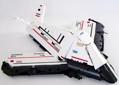 SPACEGHOST01 (madLEGOman) Tags: world jack real fighter lego space contest shuttle spaceghost stealth f117 moc starfighter mckeen f217 madlegoman madlegoman13 jadaisscrewed