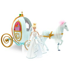 Disney Princess Cinderella Doll and ''Happily Ever After'' Carriage Set - Product Image #1 - Cinderella, Coach and Horse (drj1828) Tags: horse set pumpkin coach doll carriage princess disney after cinderella ever happily