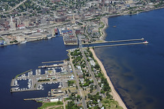 Duluth-Superior_MN_004_I (Detroit District) Tags: minnesota harbor aerialview shipping duluth lakesuperior corpsofengineers detroitdistrict