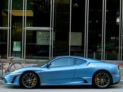 ferrari f430 scuderia (rgibbsphotography) Tags: blue canada cars vancouver bc columbia ferrari exotic british spotted scuderia supercar v8 spotting exotics f430 supercars