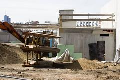 EZB-Baustelle, Frankfurt am Main 2012 (Spiegelneuronen) Tags: baustelle architektur material frankfurtammain neubau coophimmelblau europischezentralbank