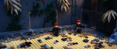 'Mechanic Sands...' ([Stijn Oom]) Tags: sky eclipse desert lego associates sharp legos sands mechanic officer grafx ssa dace berets brickarms brickforge thepurge legolego dutchlego
