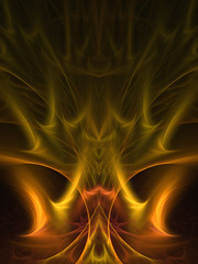 Eternal Flame (Mulewings~) Tags: flames apo fractal oranges apophysis7x fracalflames