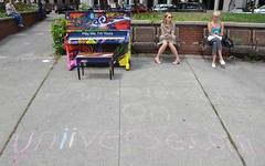 Play Me, I'm Yours (sniderscion) Tags: life park street city summer people urban music toronto ontario canada art peru angel project scott am nikon women downtown random g candid piano games canadian international installation pan nikkor 18200 snider 2015 berczy 3556 carrilo sniderscion d7000 nikkor182003556g