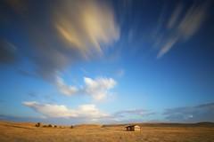 Summer Time (ernogy) Tags: california longexposure summer sky cloud grass northerncalifornia landscape time shed folsom filter prairie bigstopper ernogy