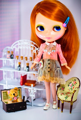 My poor princess girl (D-art ) Tags: outfit doll eli leo redhead kenner blythe mecanique mechanique poupee dayatthefair