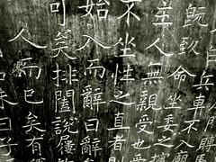 Estela (Coyolicatzin) Tags: china xian  calligraphy cina chine chinesecalligraphy caligrafa beilinmuseum calligraphie calligraphiechinoise forestofstonesteles caligrafachina fortdesstles bosquedelasestelas museobeilin musebeilin