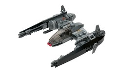 M-Wing Long-Range Interceptor (ted @ndes) Tags: starwars lego space craft starfighter mwing