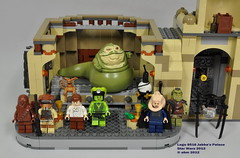 Star Wars Lego 9516 Jabba's Palace (KatanaZ) Tags: toys starwars lego chewbacca oola 2012 hansolo boushh jabbathehutt gamorreanguard bibfortuna bomarrmonk jabbaspalace salaciousbcrumb hansoloincarbonite